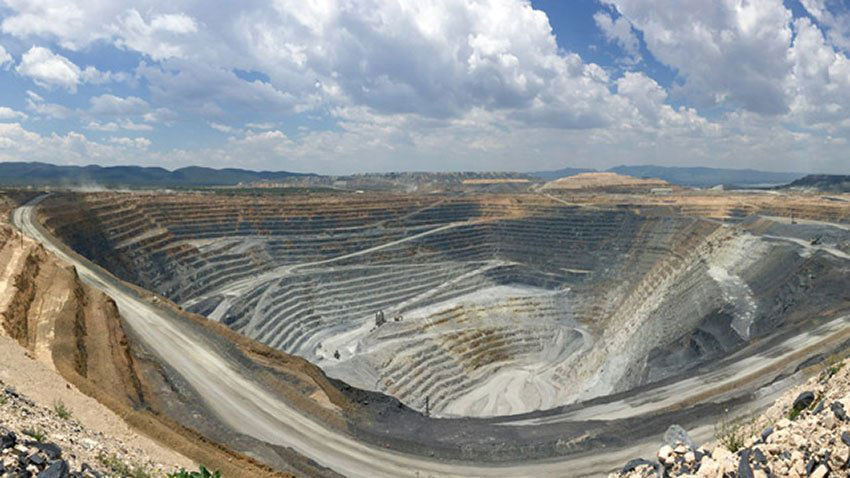 The Canadian-owned Peñasquito mine in Zacatecas.