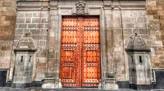 The National Palace in Mexico City: