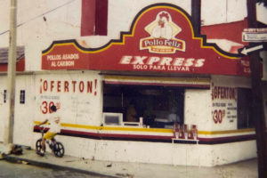 The first Pollo Feliz opened in Los Mochis, Sinaloa, in 1975.