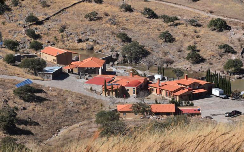 The El Saucito ranch, one of the properties owned by Duarte.