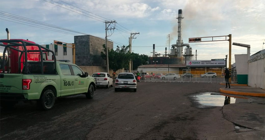 Access has been restricted at the Salamanca refinery.