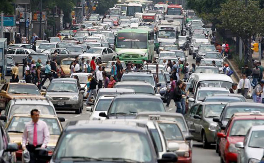 Traffic is not the main culprit behind Mexico City's pollution problem.