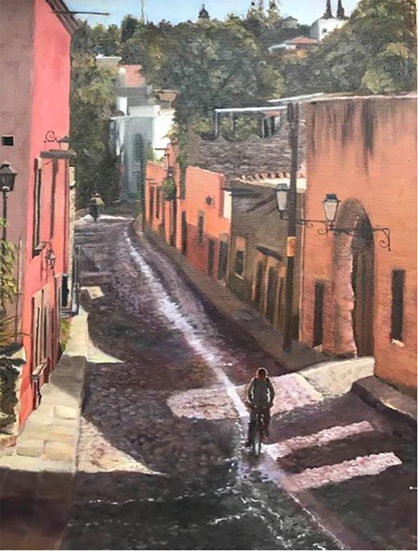 Calle Aldama & Cardo by Karen Lee Dunn of San Miguel de Allende.