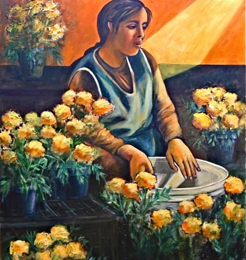 La Vendedora de Flor by San Miguel's Susan Santiago.