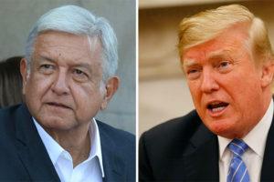 AMLO and Trump: celebrating renewal of the NAFTA bet.