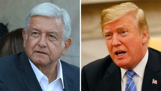 AMLO and Trump: celebrating renewal of the NAFTA bet.