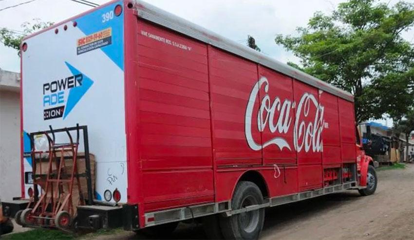 coca-cola truck