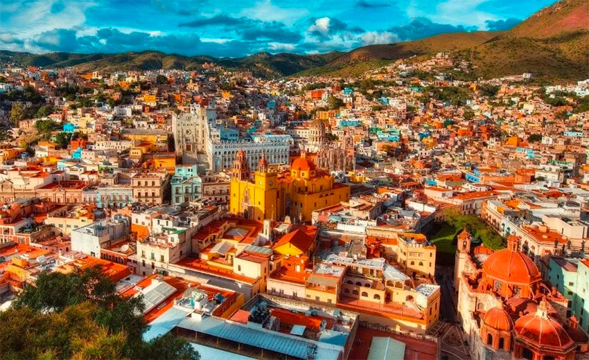 The city of Guanajuato: safe for travelers.
