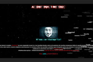 The Condusef website after it was hacked by Anonymous.The Condusef website after it was hacked by Anonymous.The Condusef website after it was hacked by Anonymous.