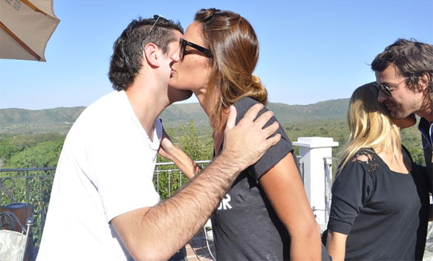 cheek kissing