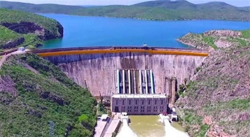 La Boquilla es una de las represas desde las cuales el agua se ha desviado a los Estados Unidos.