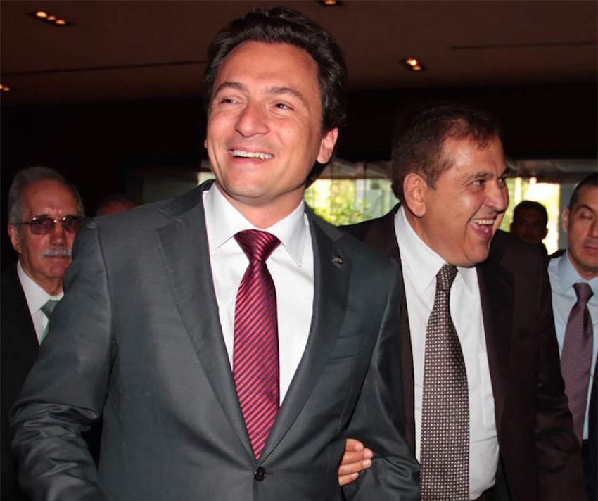 Lozoya and Altos Hornos chief Alonso Ancira.