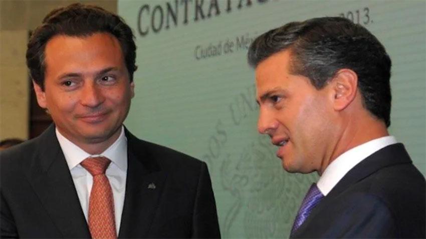 Lozoya and Peña Nieto were close associates.