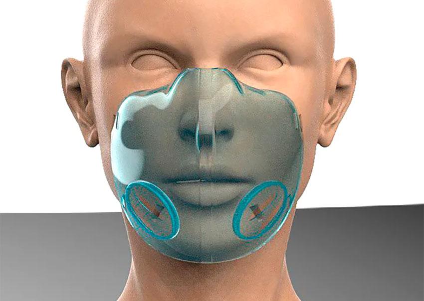 The new mask under development in Guadalajara.