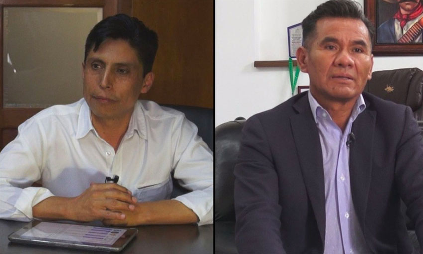 Mayors Rivera and Charrez have accused the governor of slander.