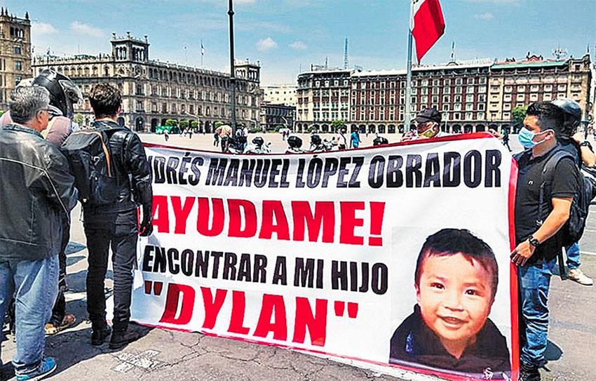 Juanita Pérez's son Dylan has been missing since June 30.