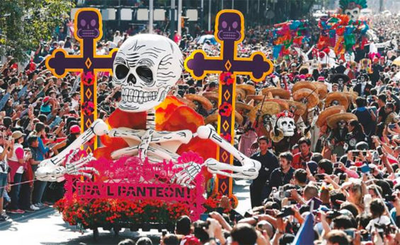 Day of the Dead parade faces the coronavirus challenge.