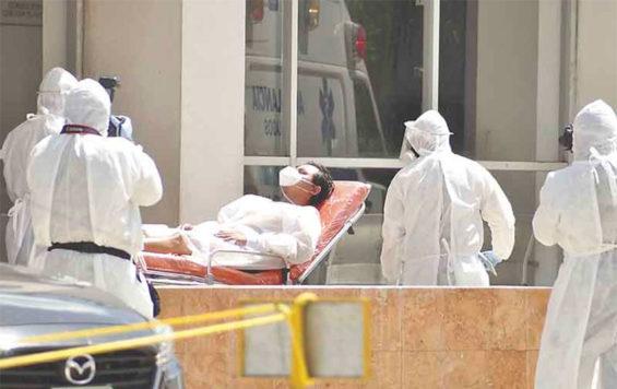 Coronavirus case numbers are putting pressure on hospitals.
