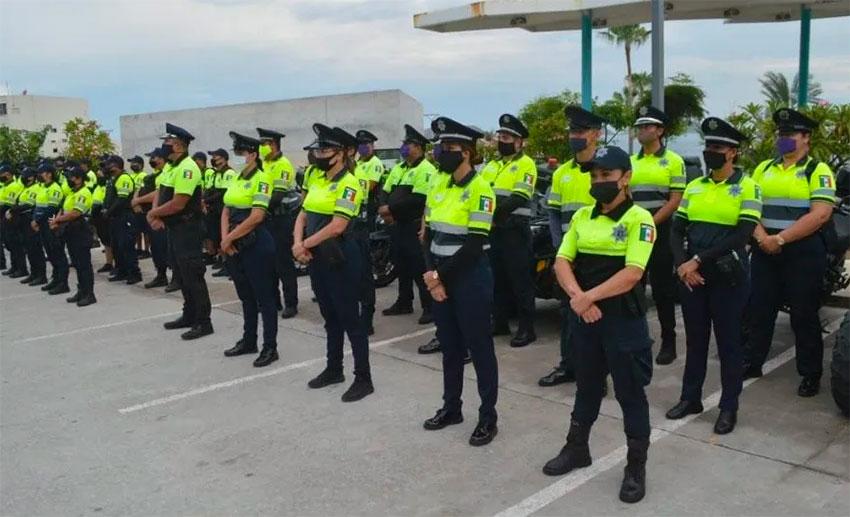 Mazatlán's new police division.