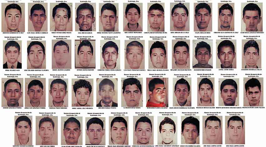 The 43 missing students.
