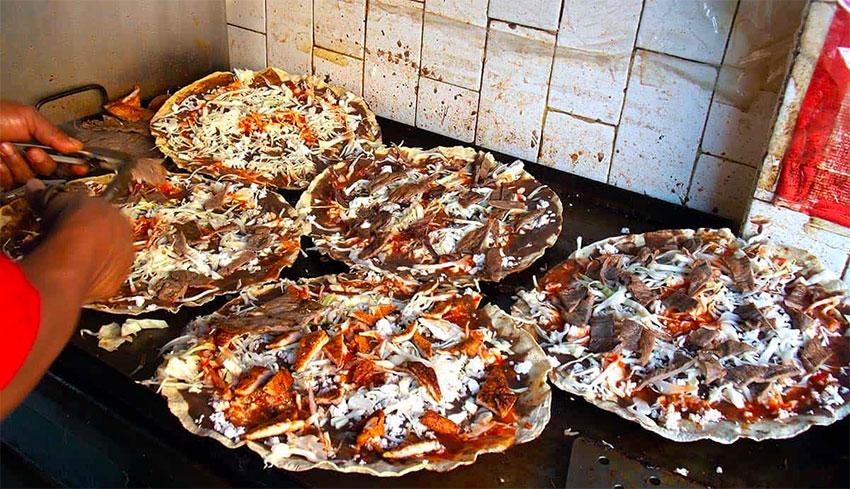 Tlayudas, a 'magical culinary creation.'
