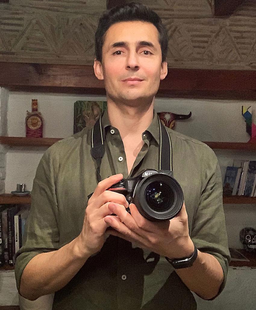 Guadalajara-born photographer Alejandro Prieto.