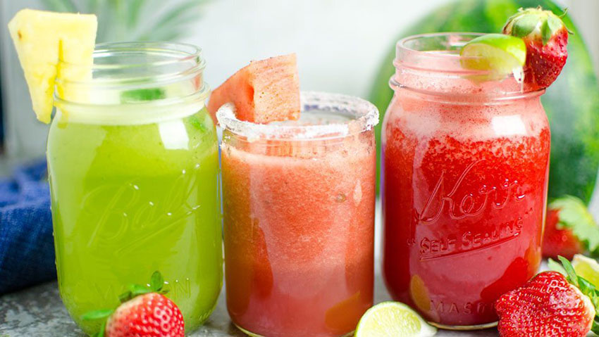 These flavorful drinks are great on a hot summer day.