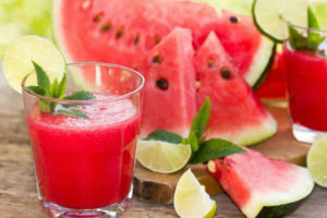 Watermelon is one of many fruits that will make a refreshing agua fresca.