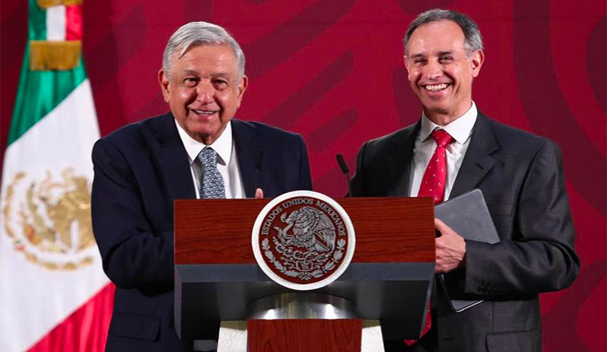 President López Obrador has been a strong defender of López-Gatell's performance as deputy health minister.