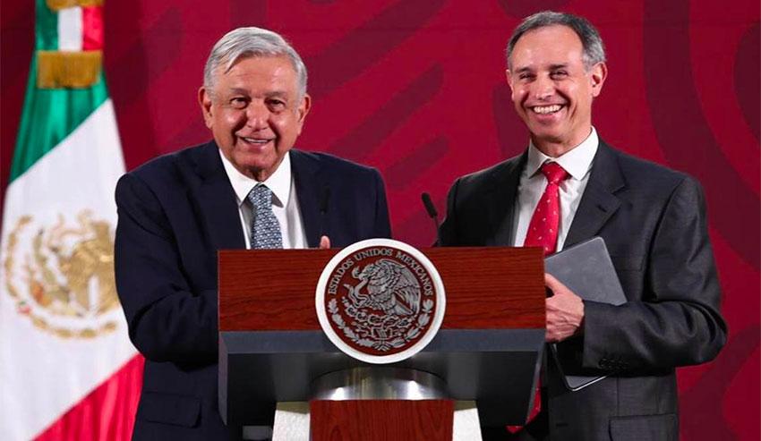 El presidente López Obrador ha sido un firme defensor del desempeño de López-Gatell como viceministro de salud.