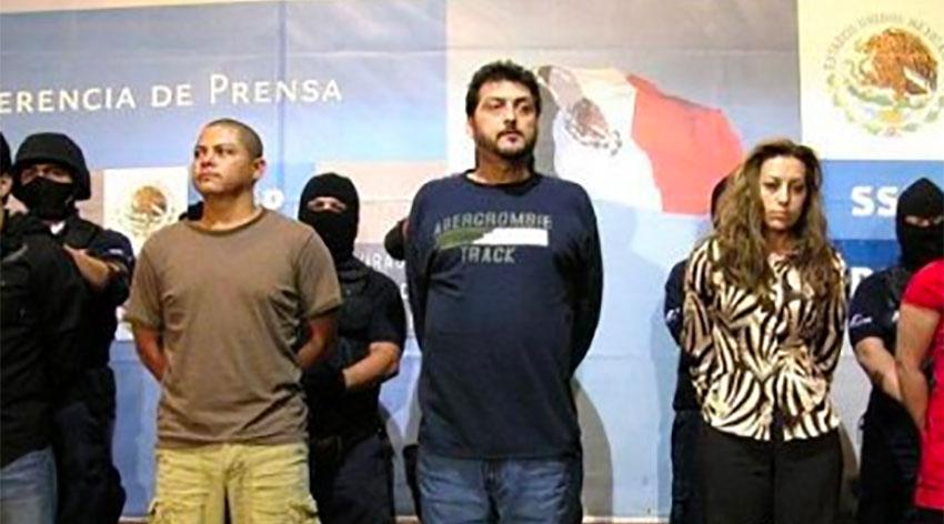El Barbas at his arrest in 2007.