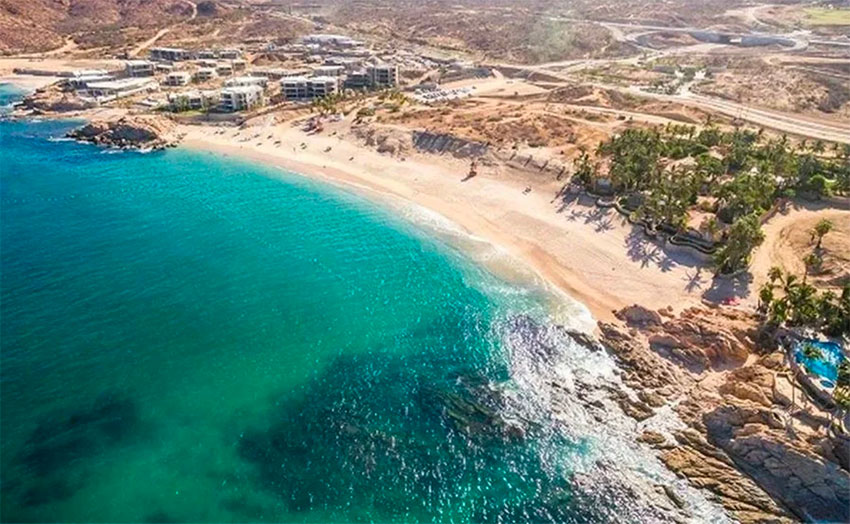El Chileno, of the Los Cabos beaches recognized by the new Platinum Beach program.