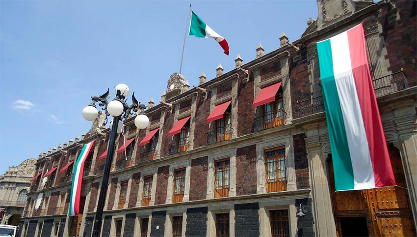 The ministry's offices in Mexico City.