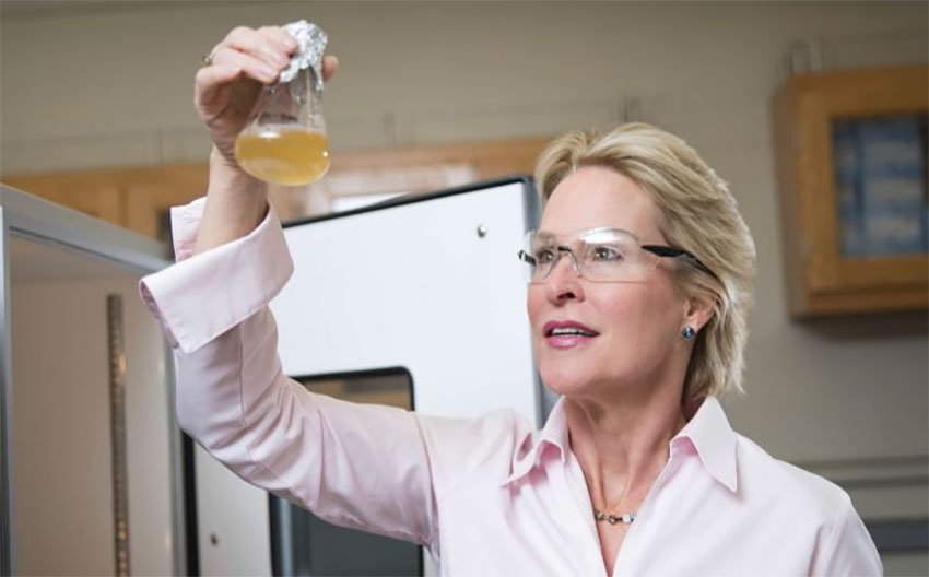 Chemical engineer Frances Arnold of Provivi.