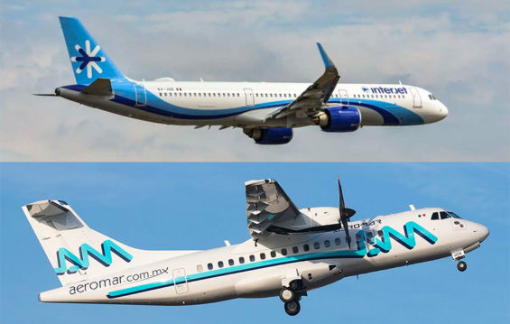 interjet and aeromar