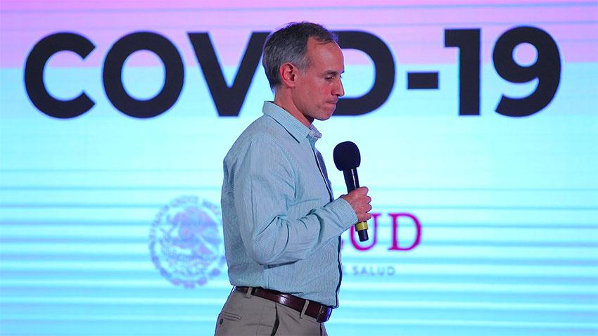 Deputy Health Minister López-Gatell: persona non grata among nine governors.
