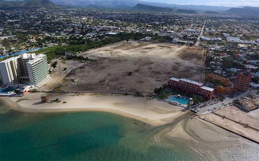 El Manglito, a new real estate development in La Paz.