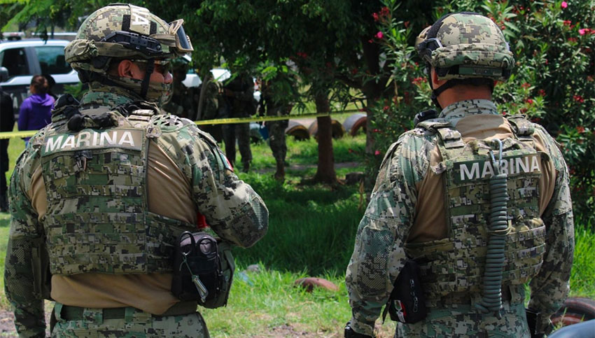 Marines are under investigation for robbery in Tabasco.