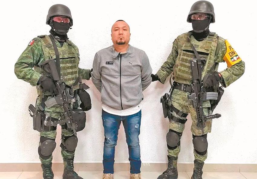 El Marro in custody.