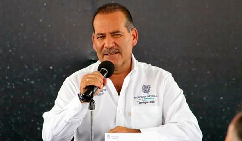 Aguascalientes Governor Orozco disputes his state's stoplight risk level.