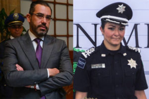 Former Federal Police officials Orta and Hernández are wanted for embezzlement.