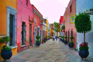 The historic center of the city of Querétaro, which has been deemed a safe place to travel.