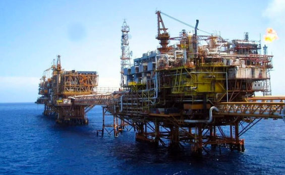 Drilling rigs are among pirates' targets.