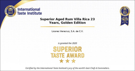 The award-winning rum from Veracruz.