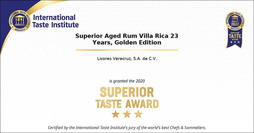 The award-winning rum from Veracruz.