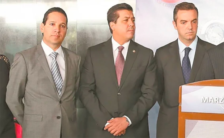 Ex-PAN senators Domínguez, García and Lavalle. The first two are currently governors of Querétaro and Tamaulipas.