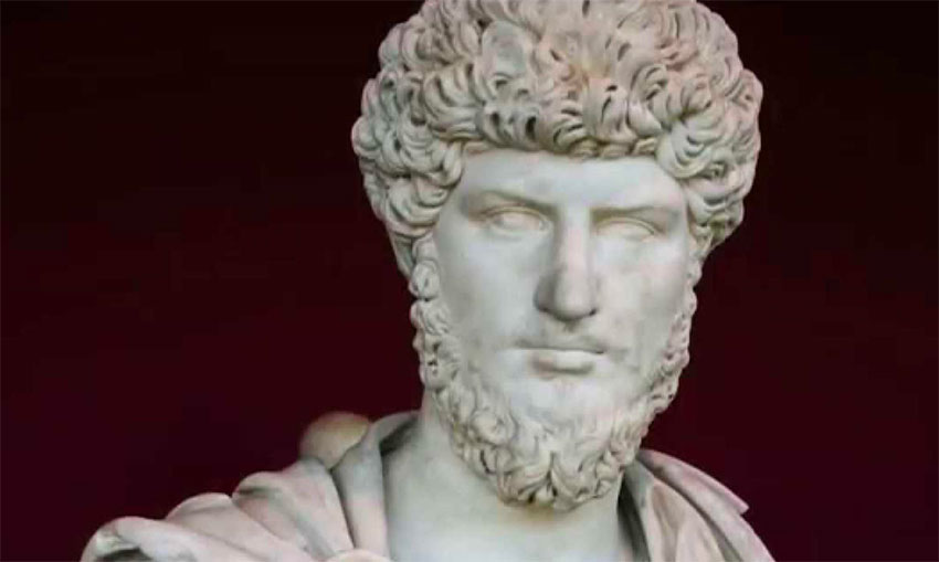 The Roman emperor Marcus Aurelius was a famous practitioner of stoicism.