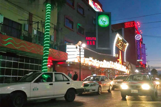 In Tijuana, nightlife goes on.