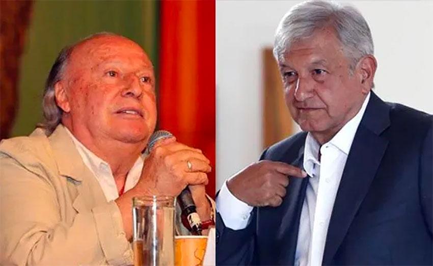 Environment Minister Toledo and López Obrador.