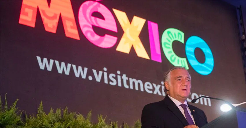 Tourism Minister Torruco.